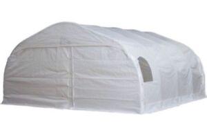 Toile d'abri d'auto double 18x20 canac