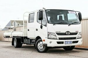2014 Hino 300 White Cab Chassis 4x2 Wangara Wanneroo Area Preview