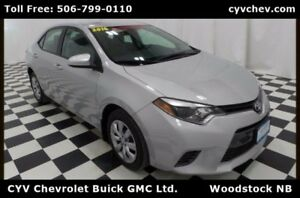 2016 Toyota Corolla LE - $9/Day - Heated Seats & Rear Camera