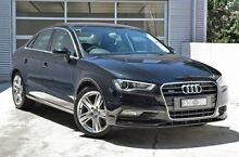2014 Audi A3 8V MY15 Ambition S tronic quattro Black 6 Speed Sports Automatic Dual Clutch Sedan Berwick Casey Area Preview