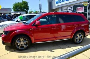 2016 Fiat Freemont JF MY15 Crossroad Red 6 Speed Automatic Wagon Osborne Park Stirling Area Preview