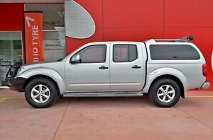 2014 Nissan Navara D40 S7 ST Silver 5 Speed Sports Automatic Utility Dandenong Greater Dandenong Preview