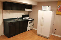 One Bedroom basement Apartment for rent in Bradford