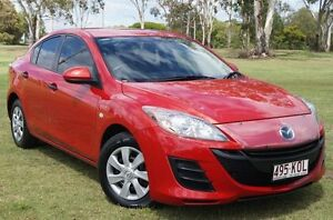 2009 Mazda 3 BL10F1 Neo Red 6 Speed Manual Sedan Bundaberg West Bundaberg City Preview