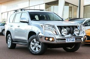 2013 Toyota Landcruiser Prado KDJ150R MY14 GXL Silver 5 Speed Sports Automatic Wagon Wangara Wanneroo Area Preview