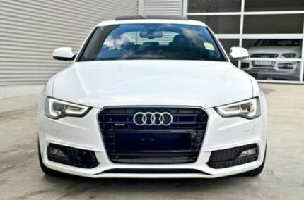 2015 Audi A5 8T MY15 Sportback S tronic quattro Ibis White 7 Speed Sports Automatic Dual Clutch Hatc Berwick Casey Area Preview