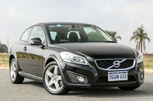 2012 Volvo C30 M Series MY12 T5 Geartronic S Black 5 Speed Sports Automatic Hatchback Wangara Wanneroo Area Preview