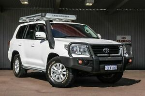 2013 Toyota Landcruiser VDJ200R MY13 GXL White 6 Speed Sports Automatic Wagon Northbridge Perth City Area Preview