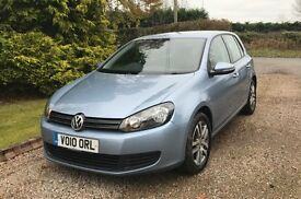**2010 GOLF SE 1.6 TDI BLUEMOTION TECH**
