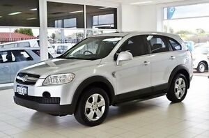 2010 Holden Captiva CG MY10 SX (4x4) Silver 5 Speed Automatic Wagon Morley Bayswater Area Preview