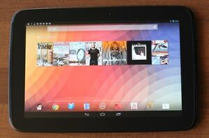 Samsung Nexus 10 Tablet With 32 GB Memory, Charger And Case!