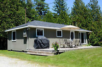 Rent COTTAGE in Oliphant (10 min to Sauble Beach) - WATER VIEW