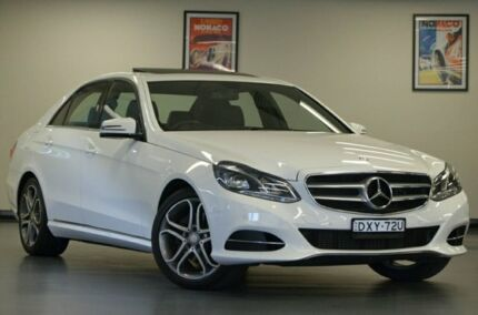 2015 Mercedes-Benz E200 W212 806MY 7G-Tronic + White 7 Speed Sports Automatic Sedan Chatswood Willoughby Area Preview