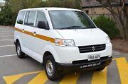 2012 Suzuki APV White 5 Speed Manual Van Brompton Charles Sturt Area Preview