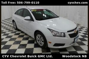 2013 Chevrolet Cruze LT Turbo Automatic - 0% Financing Available