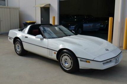1985 Chevrolet Corvette C4 White Automatic Coupe Brompton Charles Sturt Area Preview