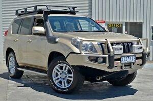 2009 Toyota Landcruiser Prado KDJ150R Kakadu Gold 5 Speed Sports Automatic Wagon Seaford Frankston Area Preview