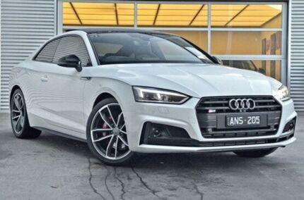 2017 Audi S5 F5 MY17 Tiptronic Quattro White 8 Speed Sports Automatic Coupe