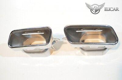 Original Mercedes Auspuffblende Satz AMG-Styling für GL X166 0 KM Chrom