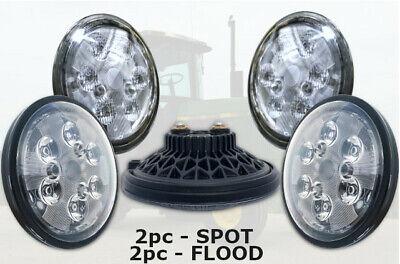 Led Headlight Kit Set Of 4 John Deere 2510 2940 3020 4000 4020 4030 4040