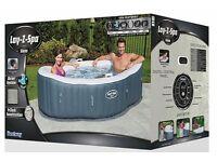 Lay-Z-Spa Brand New Hot Tub Jacuzzi- Siena £599 Retails - £275 Quick Sale