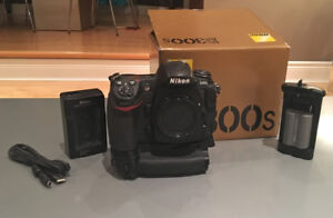 Nikon D300s Digital Camera with Nikon MB-D10 Grip