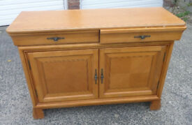 Sideboard / Dresser with Display Cabinet
