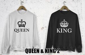 KING & QUEEN 2 CROWN UNISEX - Sweatshirts for couples in love 2PCS - <span itemprop='availableAtOrFrom'>Tomaszów Mazowiecki, Polska</span> - Zwroty są przyjmowane - Tomaszów Mazowiecki, Polska