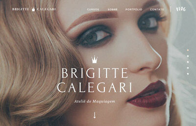 Make Up Beauty Guide Website For Sale Responsive Design-no Setup Fees