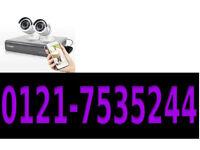 2 x cctv camera system 1200tvl