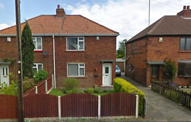 2 Bedroom furnished semi-detached house to rent in Hatfield. No agency fees.