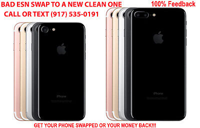 Official SWAP iPHONE 7 and 7+ BADESN IMEI TO A NEW CLEAN ONE Any Carrier