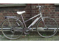 Vintage racing ladies bike RALEIGH frame 20inch - serviced ready to go - Welcome for test ride