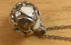 Large sphere if life necklace