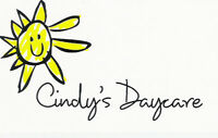 CINDY'S  DAYCARE  (MAPLE RIDGE AREA PICKERING)