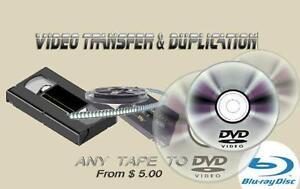 Video Transfer and Duplication Kitchener / Waterloo Kitchener Area image 1