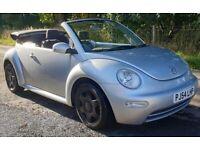 Volkswagen VW BEETLE Convertible 2004/54 1.9 TDi Diesel Cabriolet 1 Year MOT