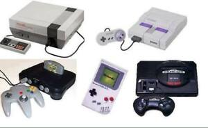 ~Looking to buy your vintage video games! Nintendo/Sega/PS~