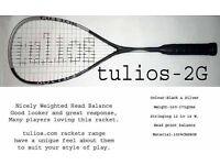 Squash racket tulios2-G brand new 2017 season