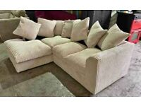 💥BLESSED DAY💥NEW BYRON JUMBO CORD CORNER & 3+2 SOFA IN STOCK💥CASH ON DELIVERY💥CASH