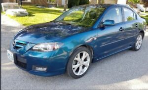 2008 Mazda 3 GT Sedan Low kms Mint Condition