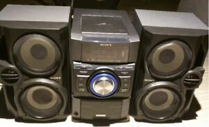 Sony Mini HiFi: HCD-EC709iP, 200W RMS x 2, Ipod Dock