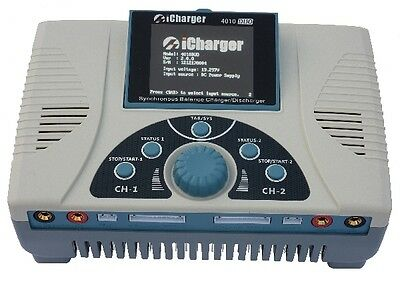 iCharger 4010DUO 40A 2000W Dual Port Battery Charger Discharger 2 10S 4010 Duo
