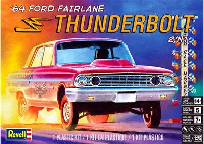 Revell Monogramm 1:25'64 Ford Fairlane Thunderbolt Auto Modell Bausatz