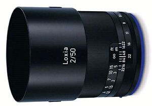 Zeiss Loxia 50mm f2.0 vs lens canon