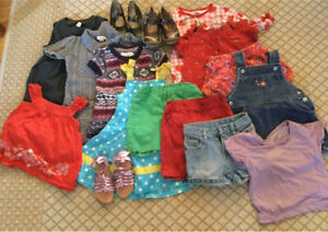 Girls summer clothes size 2 - all for $15