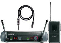 Shure PGX Beltpack Mic with Instrument Cable 350$