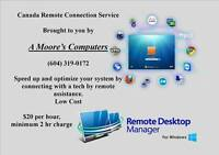 Remote Connection Computer Repairs - $20/hour (Canada Wide)