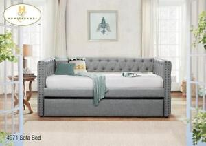 Daybed in Grey Color - Daybeds on Sale (BD-2357)