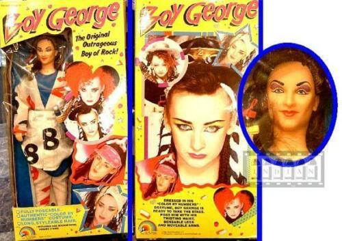 Boy George Doll Culture Club Figure Vintage Rare Unused 1984